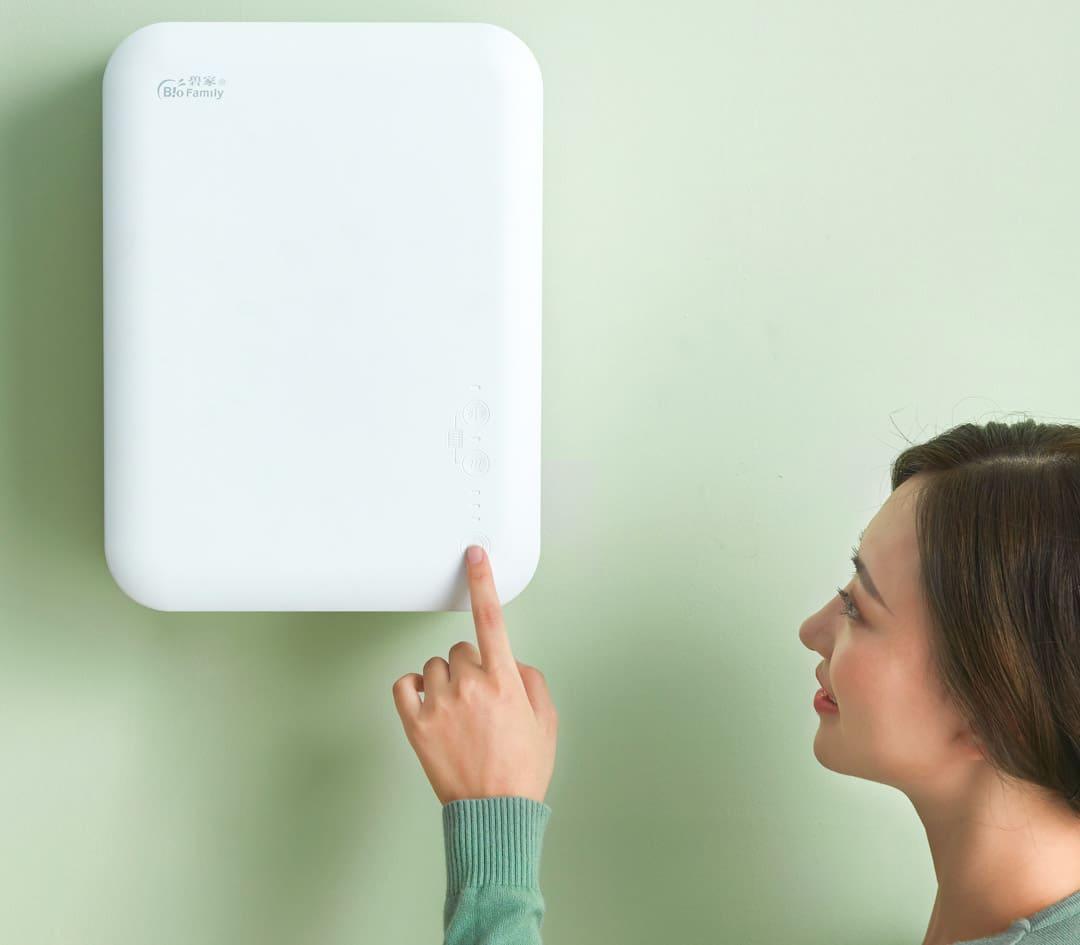 Приточный очиститель воздуха Xiaomi BioFamily Wall Mounted Fan robot4home.ru