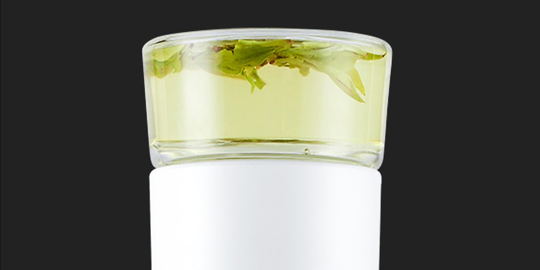 Термокружка Xiaomi Pinztea Tea Water Separation Cup (0.3 л) черный robot4home.ru