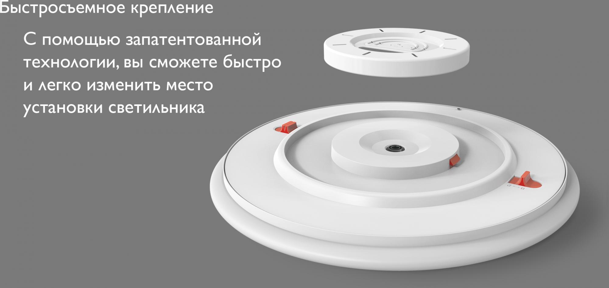 Потолочная лампа Xiaomi Yeelight Arwen Ceiling Light 450C (White) YLXD013-B robot4home.ru