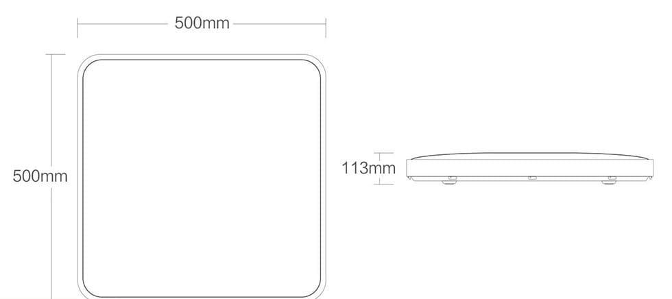 Потолочная лампа Xiaomi Yeelight LED Ceiling Lamp Plus Star trail (YLXD21YL) robot4home.ru