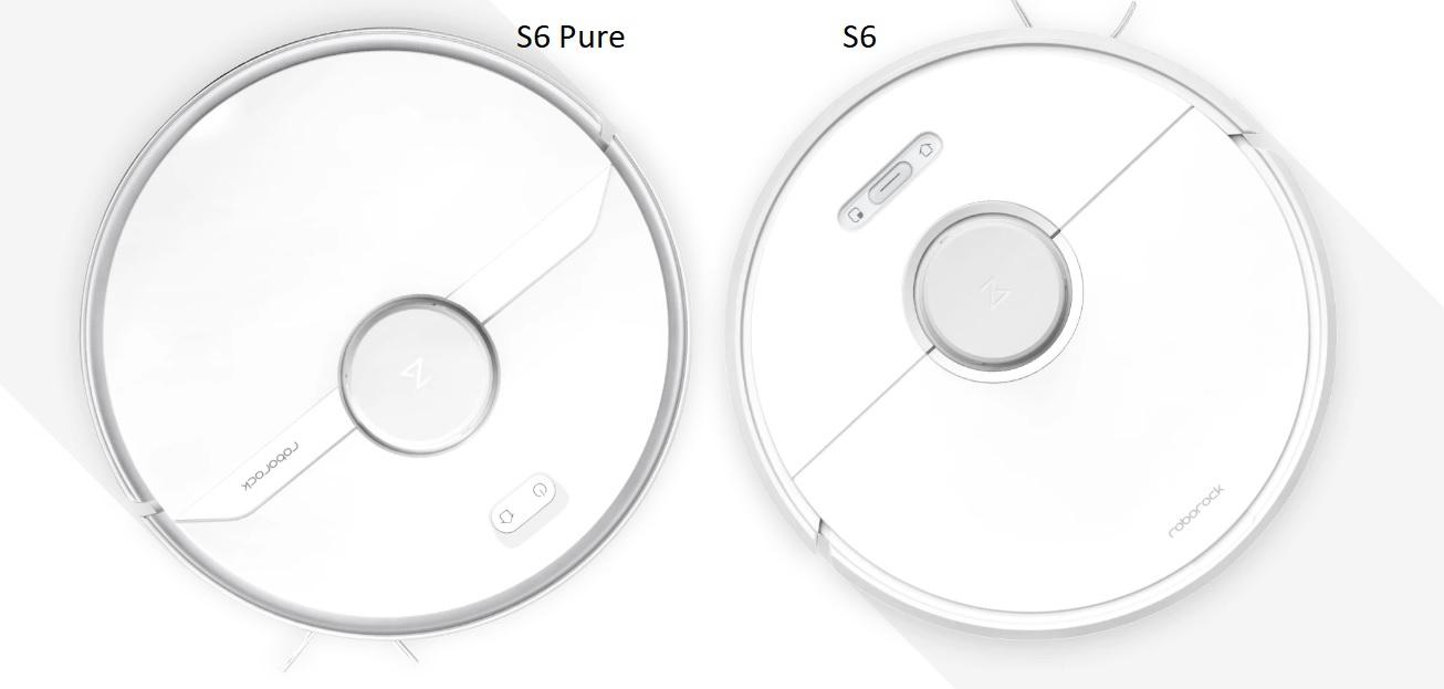 В чем различиеRoborock S6Pure иRoborock S6?