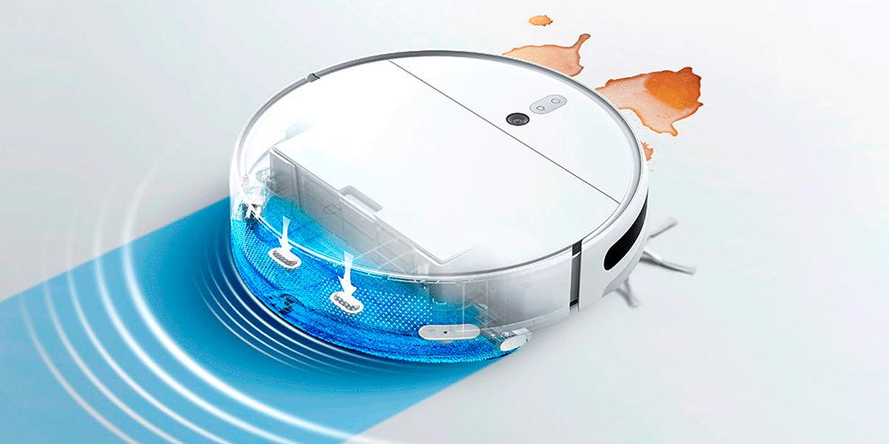 Робот-пылесос Xiaomi Mijia 2C Sweeping Vacuum Cleaner (STYTJ03ZHM) robot4home.ru