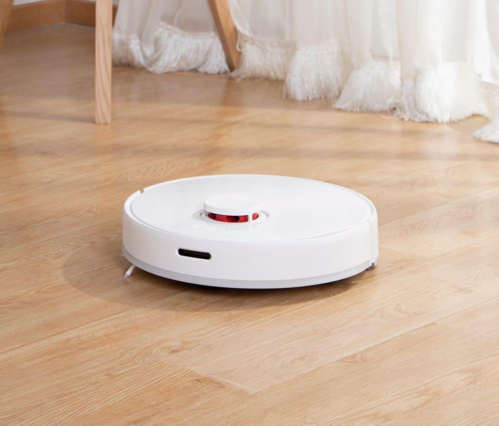 Робот-пылесос Xiaomi TROUVER Robot LDS Vacuum-Mop Finder White / Белый robot4home.ru