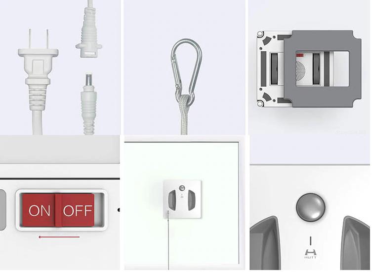 Робот-мойщик окон Xiaomi Hutt Robot W66 (White/Белый) robot4home.ru