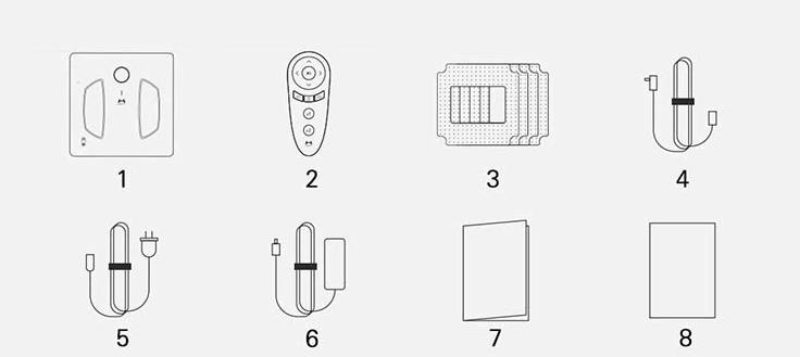 Робот-стеклоочиститель Xiaomi HUTT W55 white robot4home.ru