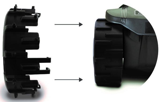 Шипованая насадка на колесо Robomow (для моделей RS/TS/MS) robot4home.ru