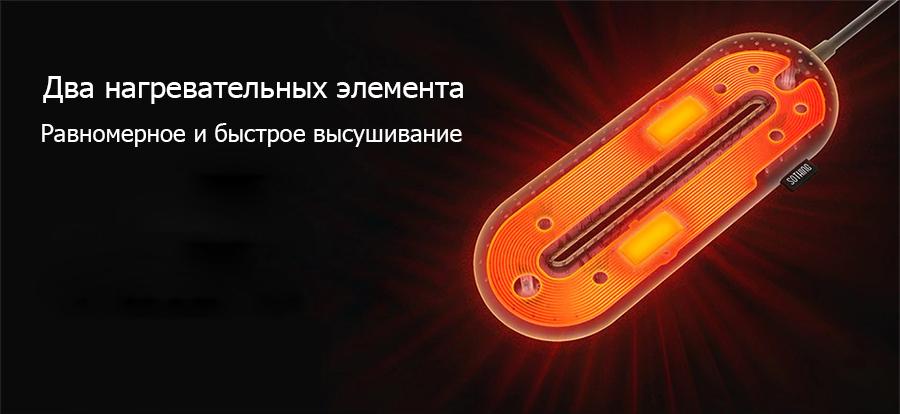 Сушилка для обуви Sothing ZERO Shoes Dryer (белый) robot4home.ru