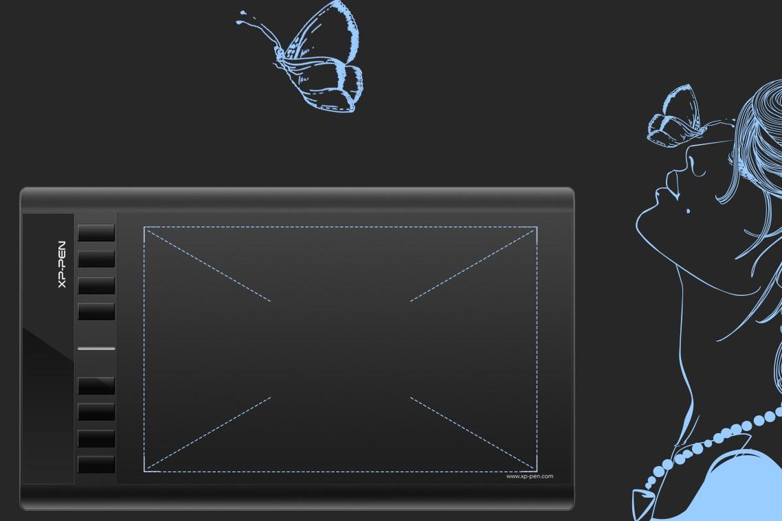 Графический планшет XP-PEN Star 03v2 robot4home.ru