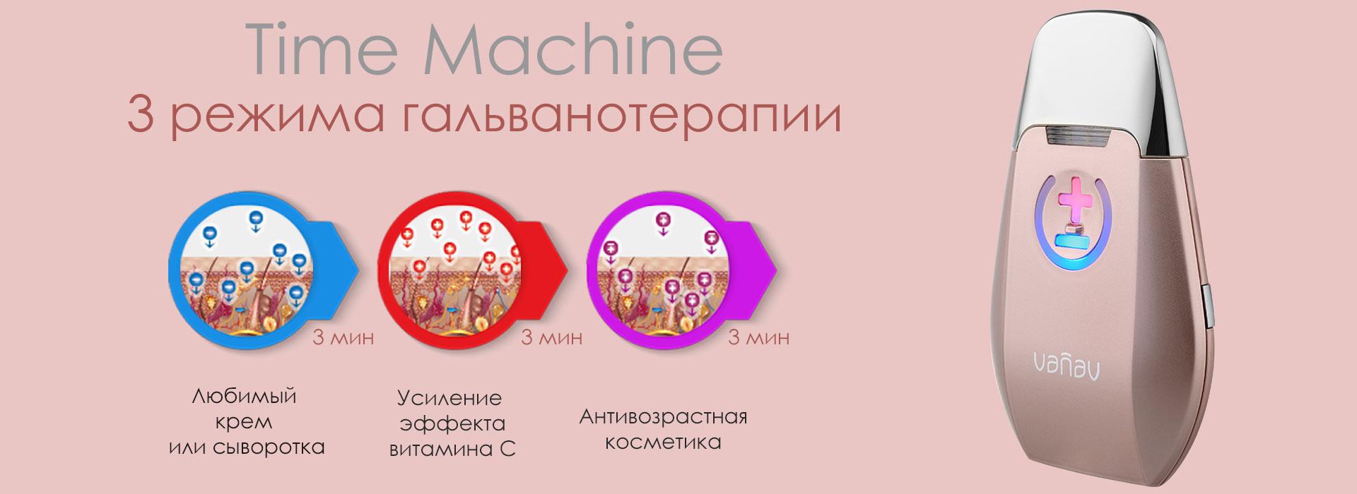 Гальванотерапия с помощью VANAV Time Machine