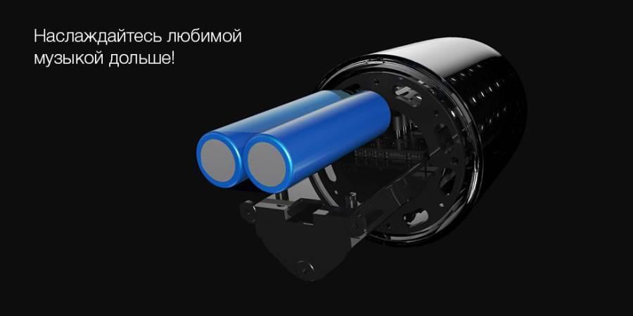 Портативная колонка Xiaomi Velev V03 Colorful Lighting Sound с подсветкой (Белый) robot4home.ru