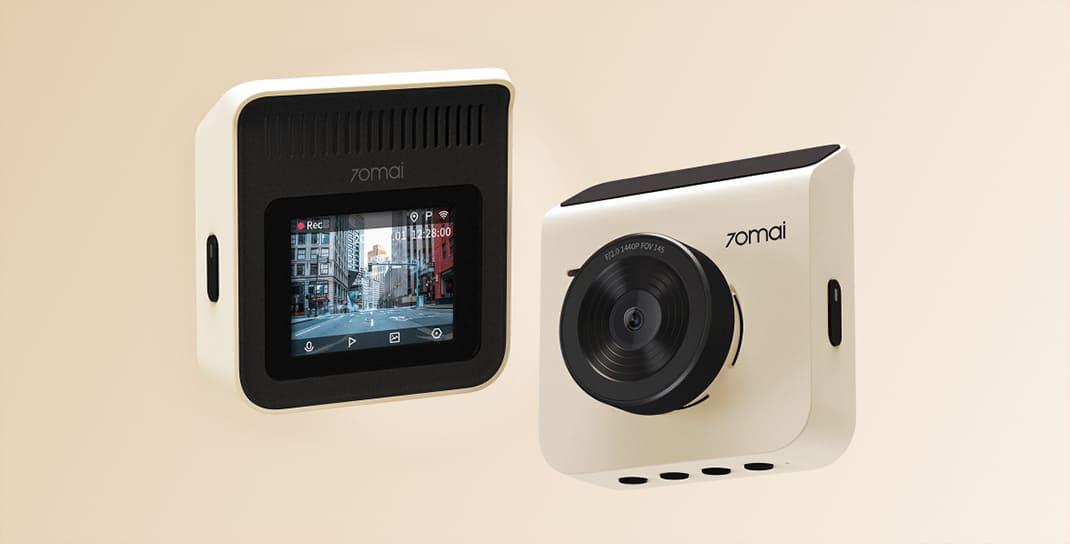 Видеорегистратор Xiaomi 70mai Dash Cam A400 + камера RC09 (Красный, EU) robot4home.ru