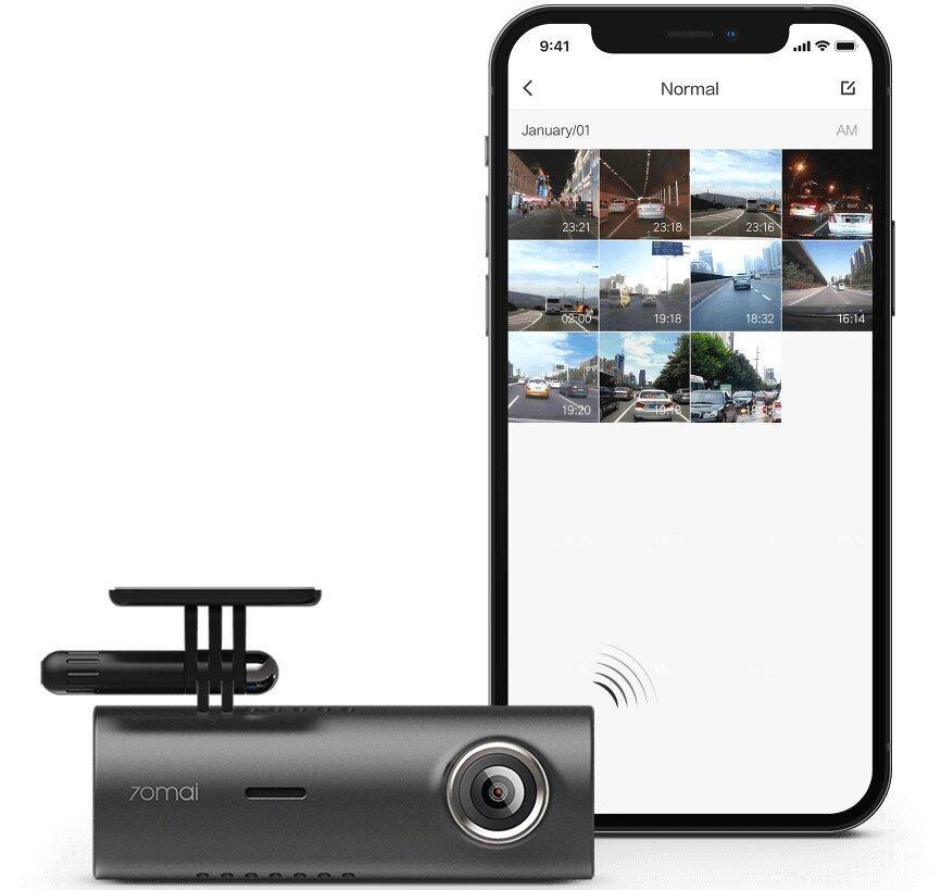 Видеорегистратор Xiaomi 70Mai Dash Cam M300 (Navy) (Русская версия) robot4home.ru