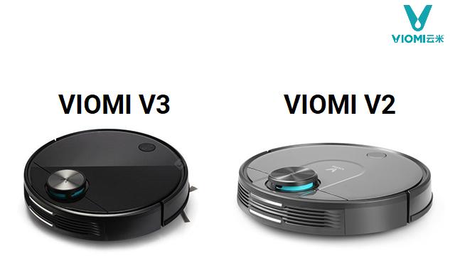 сравнение роботов-пылесосов viomi v3 и viomi v2 robot4home.ru