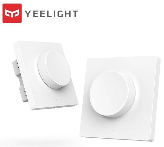 Настенный выключатель диммер Xiaomi Yeelight Smart Dimmer Bluetooth Wall Switch (YLKG08YL)