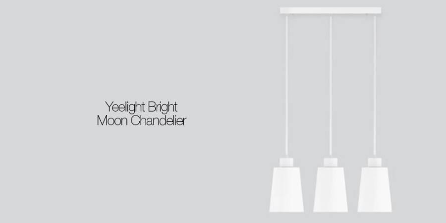 Светильник Xiaomi Yeelight Bright Moon Chandelier E27, 120 Вт (YLDL03YL) robot4home.ru