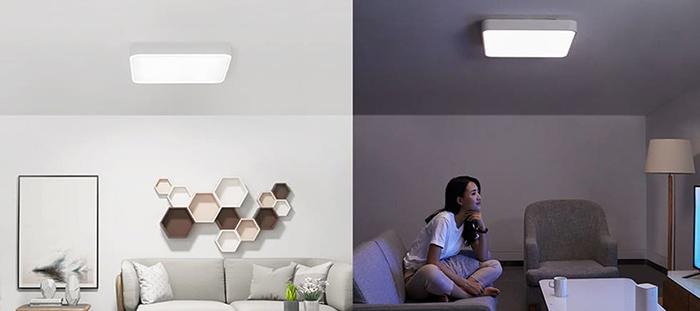 Потолочная лампа Xiaomi Yeelight LED Ceiling Lamp Plus (YLXD10YL), LED, 45 Вт robot4home.ru