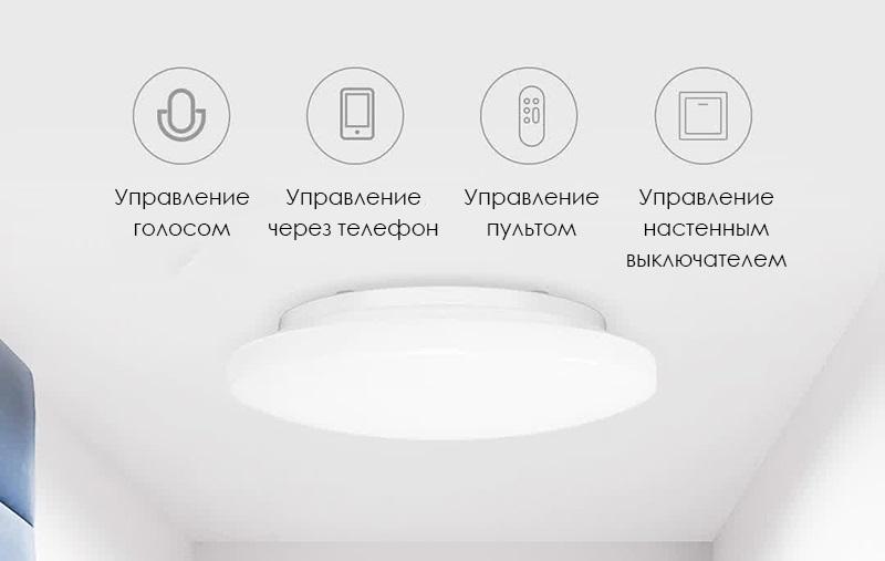 Потолочная лампа Xiaomi Yeelight Galaxy Ceiling Light 260 (Smart version) (YLXD62YI) robot4home.ru