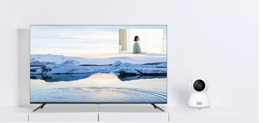 Сетевая камера Xiaomi Xiaovv Smart PTZ Camera White (Белый) XVV-6620S-Q8 robot4home.ru