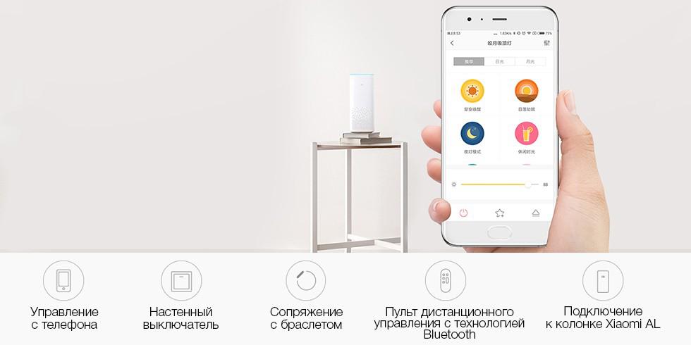 Потолочная лампа Xiaomi Yeelight LED Ceiling Lamp 450 mm (Starry) (YLXD16YL) robot4home.ru