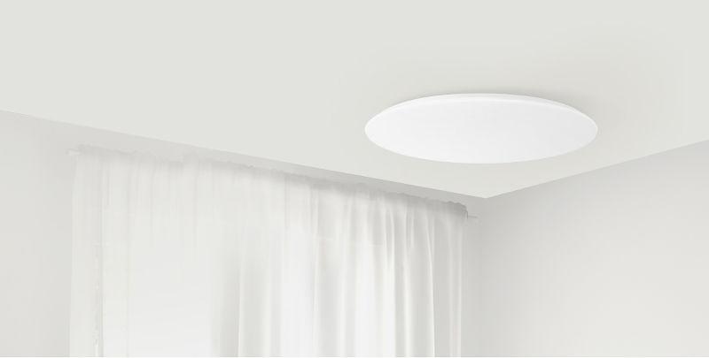 Потолочная лампа Xiaomi Yeelight Bright Moon LED Intelligent Ceiling Lamp 480 mm (YLXD17YL) robot4home.ru