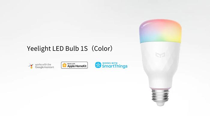 Лампа светодиодная Yeelight Smart LED Bulb 1S (YLDP13YL), E27, 8.5Вт robot4home.ru