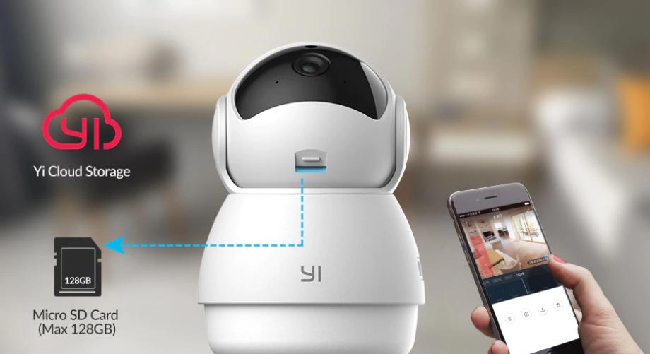 Сетевая камера Xiaomi YI Dome Guard Camera 1080P robot4home.ru