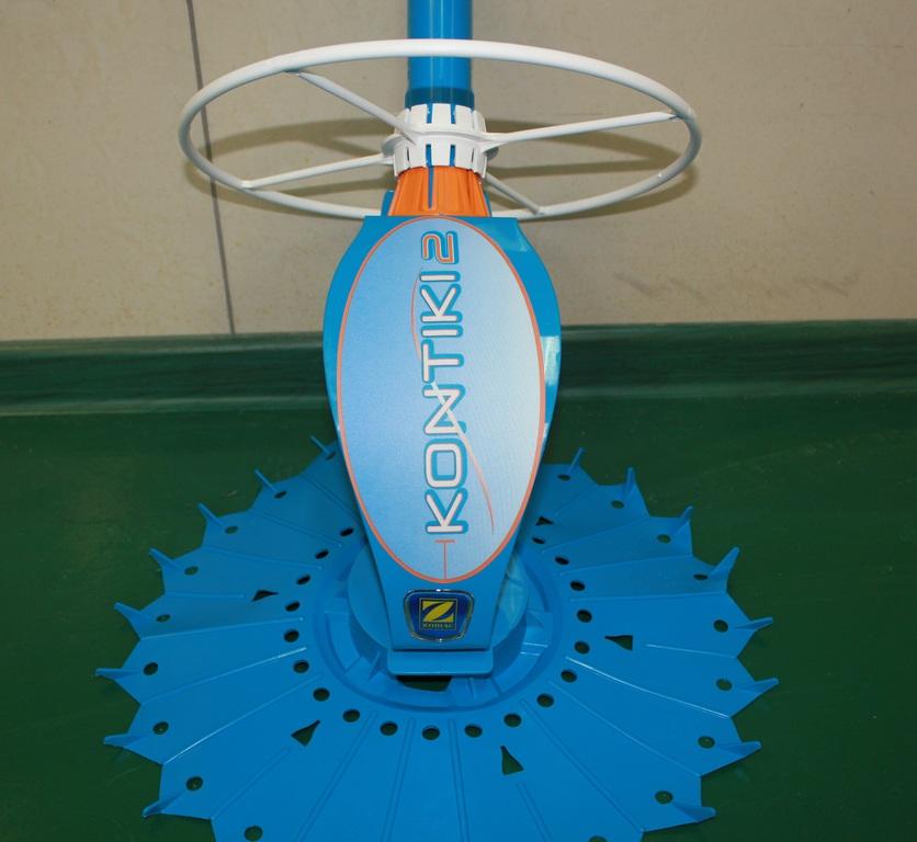 Вакуумный гидравлический очиститель Zodiac Kontiki 2 *** описание, фото, видео, гарантия, технические характеристики, инструкция, комплектация, отзывы robot4home.ru
