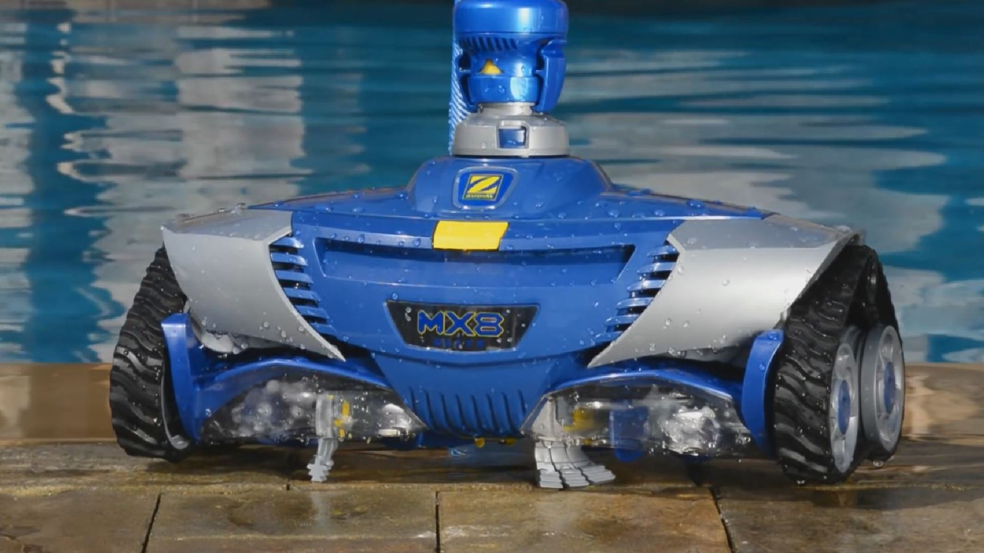 Вакуумный пылесос Zodiac Barracuda МХ9 описание, фото, видео, гарантия, технические характеристики, инструкция, комплектация, отзывы robot4home.ru