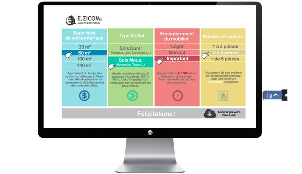 e.ziclean® BOT PETS, прогаммирование