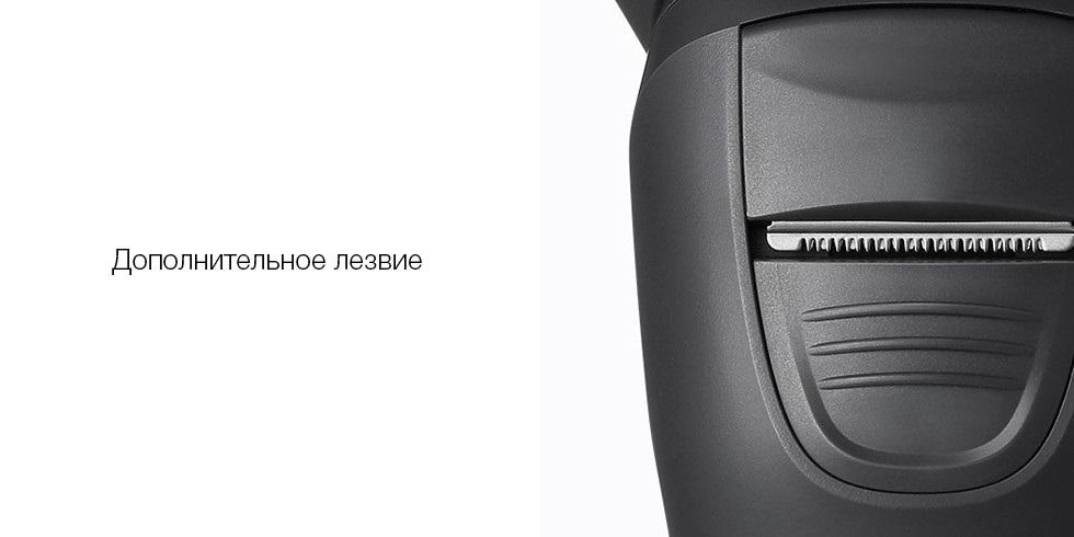 Электробритва Soocas Pinjing So White 3D Intelligent Control Razor ES3, черный robot4home.ru